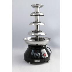 Fontaine à chocolat CF ProEdition - Qualité commerciale, tout en acier inoxydable, hauteur de la tour 410 mm