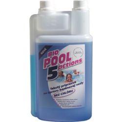 Liquide sans chlore BioPool 5 pour le traitement de l'eau de piscine