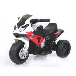 BMW S 1000 RR Tricycle électrique pour enfants, Moto à piles, 3 roues, sous licence, 1x moteur, batterie 6V