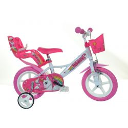 "DINO Bikes - Kids bike 12 ""124RLUN Unicorn 2019"