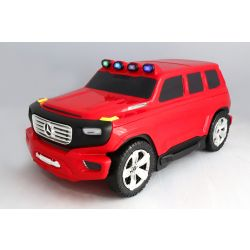 Enfants à tirer sous licence Mercedes-Benz Ener-G-Force Bagages - Petit sac de voyage rouge