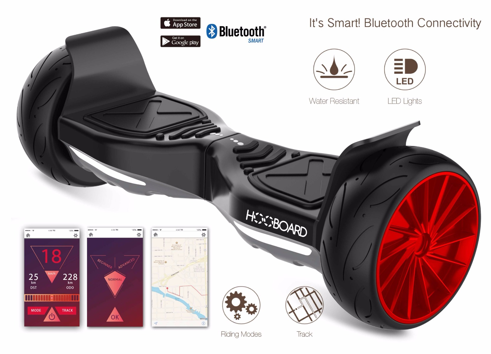 hooboard sport premier sport smart auto quilibre scooter board hoverboard certifi ul. Black Bedroom Furniture Sets. Home Design Ideas